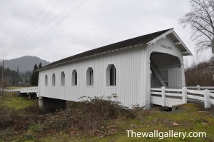 White Covered Bridge north of Grants Pass, Oregon