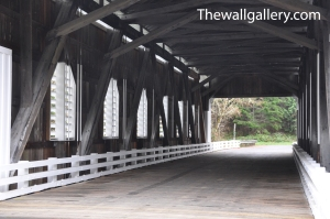 Dorena Covered Bridge Interior