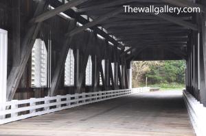 Dorena Covered Bridge Interior