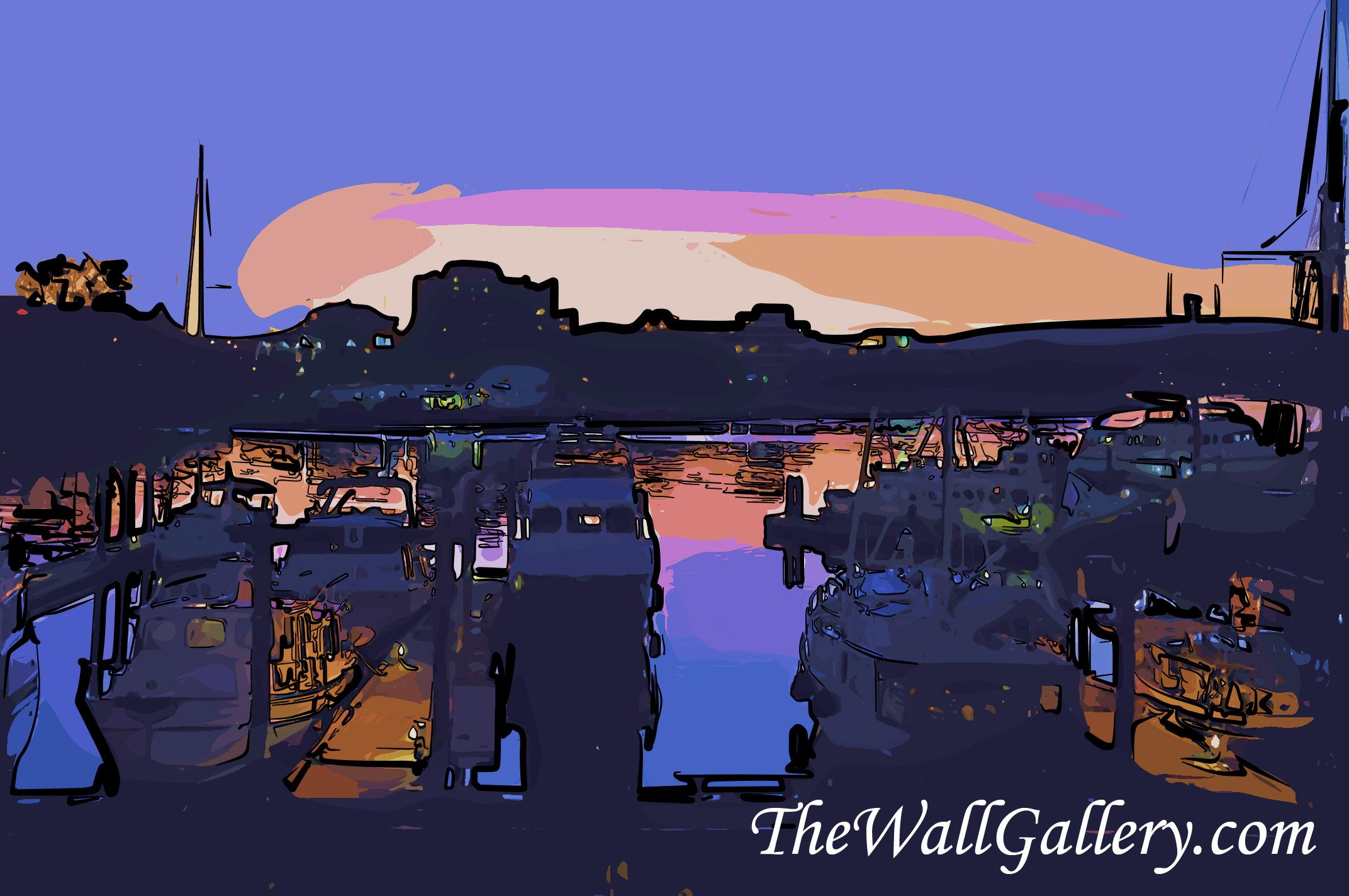 Dusk in the Harbor