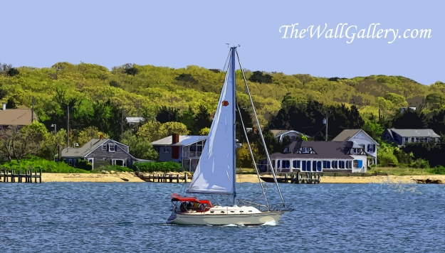 Sail Boat in New England