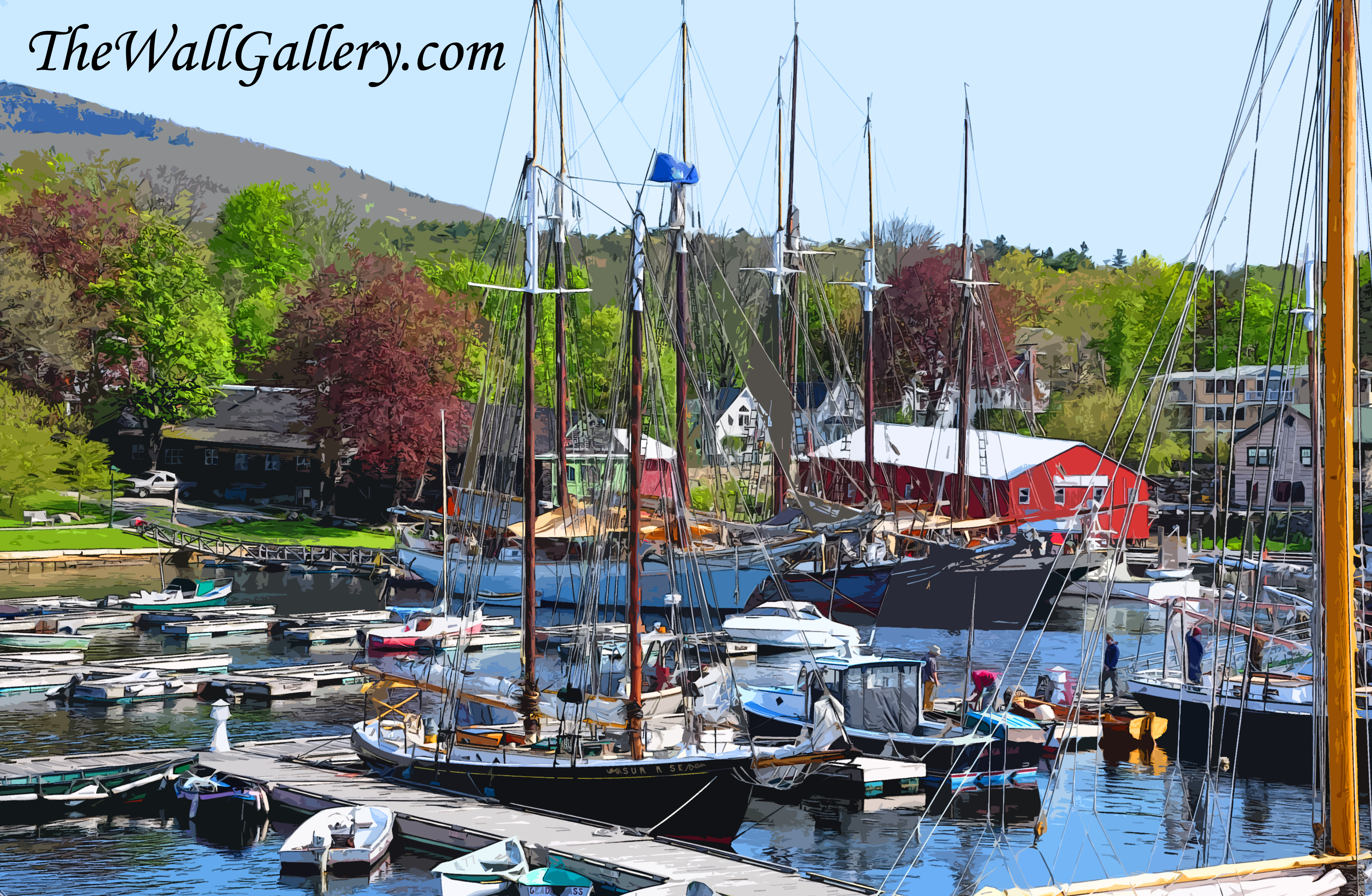 Spring Time at the Harbor