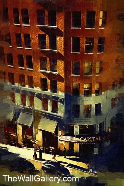 Street Corner; Gothic Oil