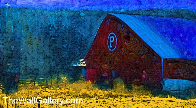 The P Barn