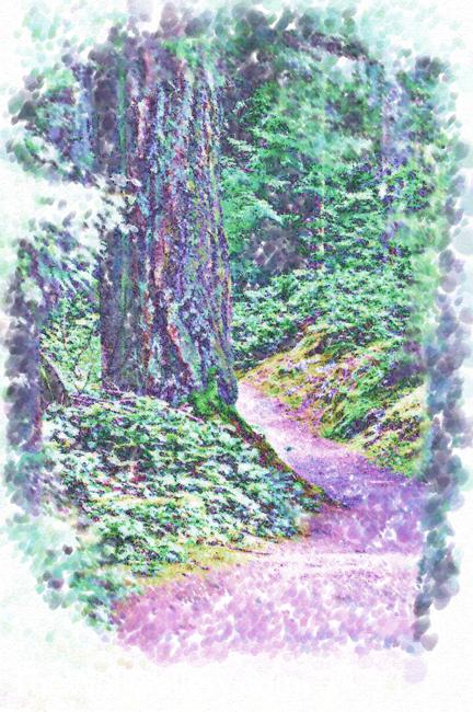 The Path Pointellism