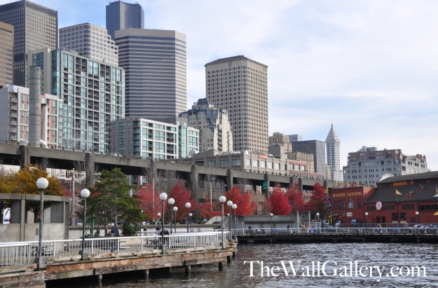 The Waterfront in Downtown Seattle