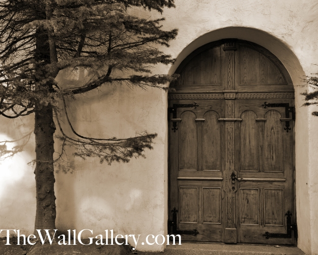 Door 1 Sepia Tone