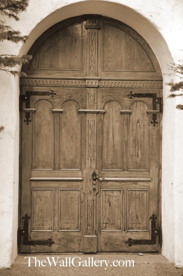 Door Angle 2 Sepia Tone