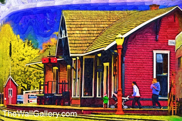 The Old Railroad Station