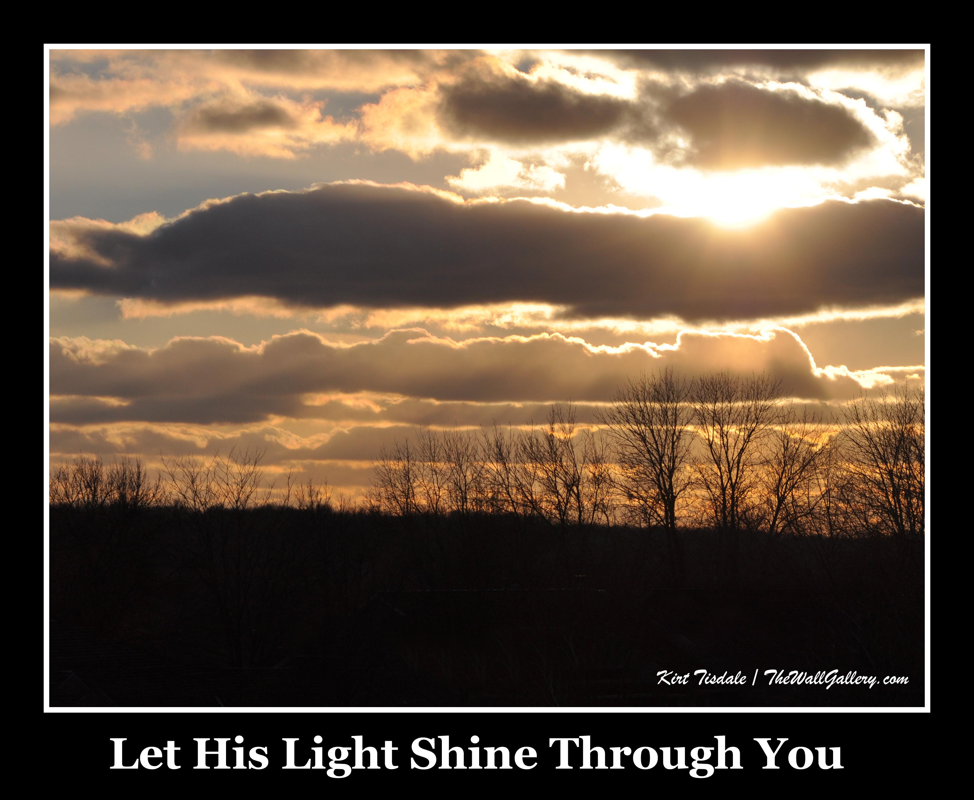 Let His Light Shine
