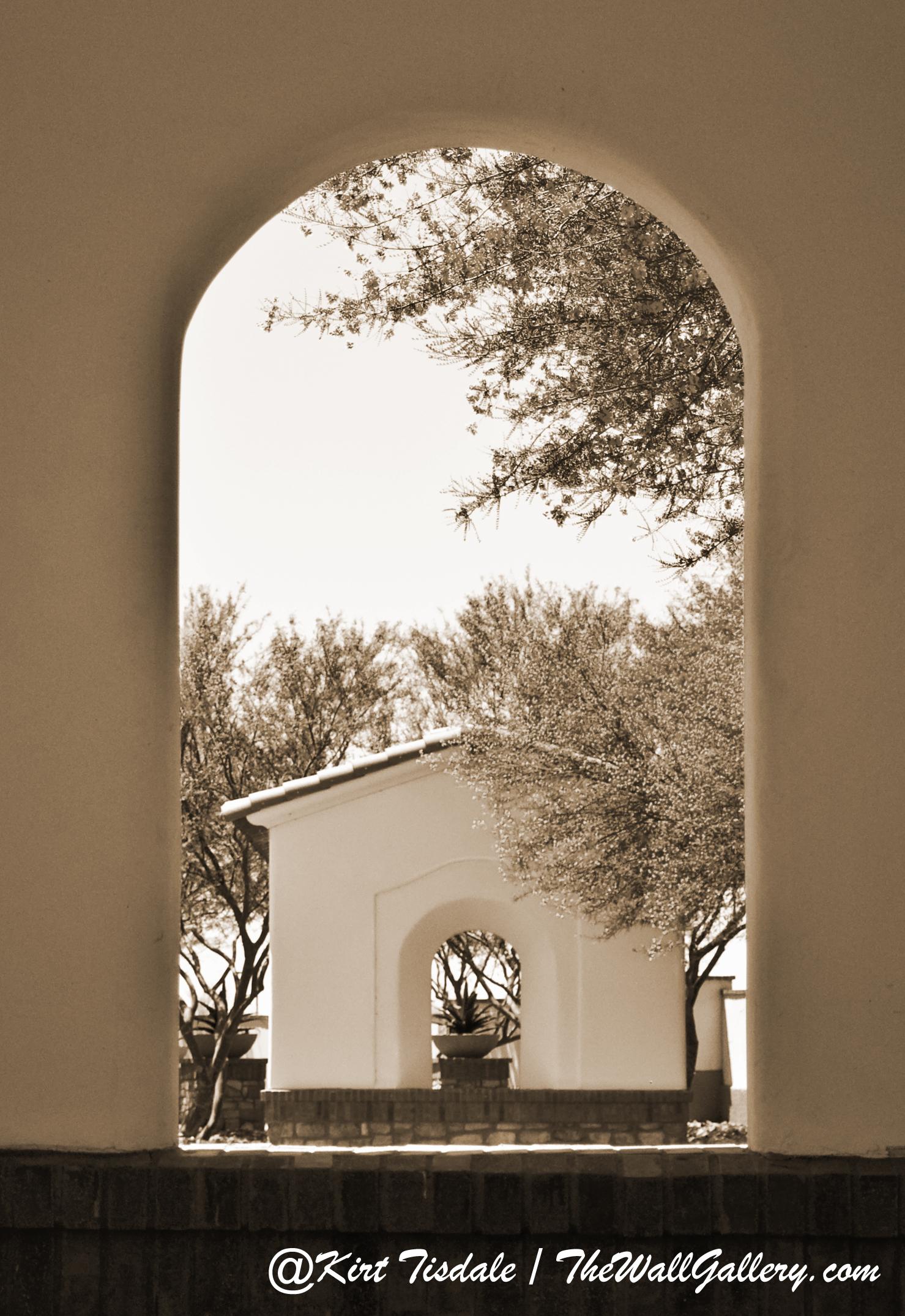 Arch 12 Sepia