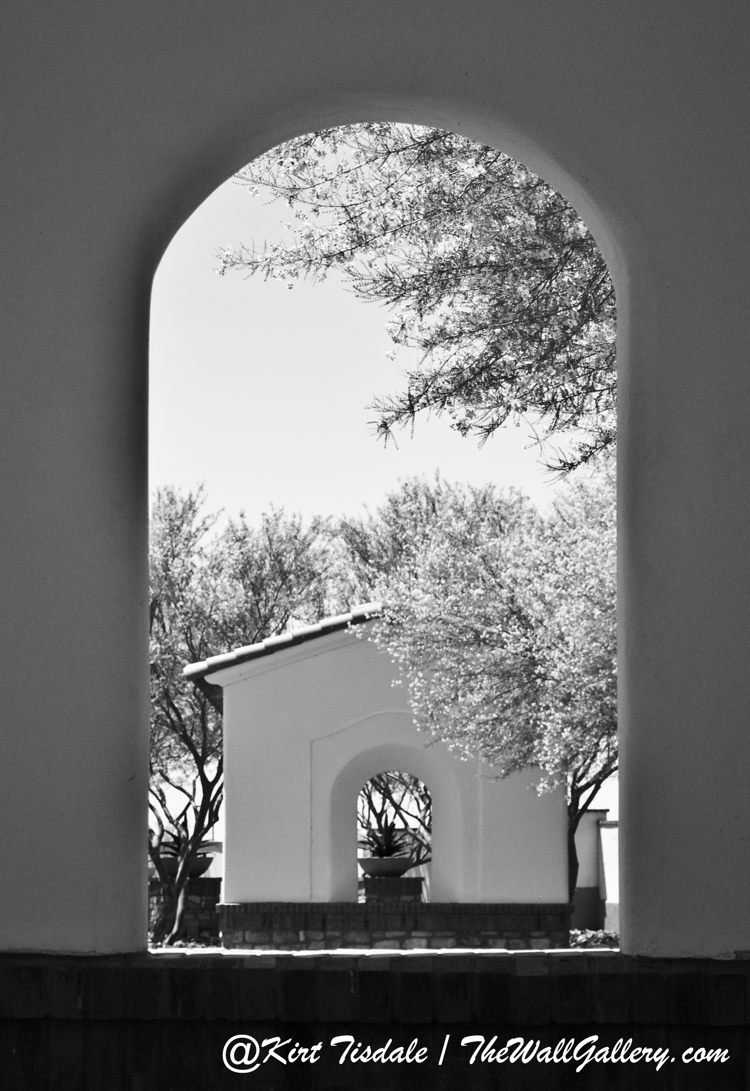 Arch 8 Black and White