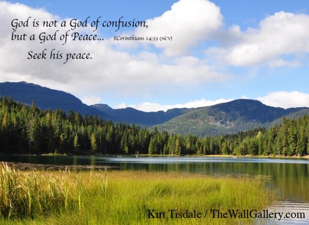 1 Corinthians 14:33