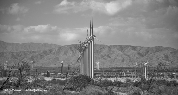 Wind Turbine 1: Black and White