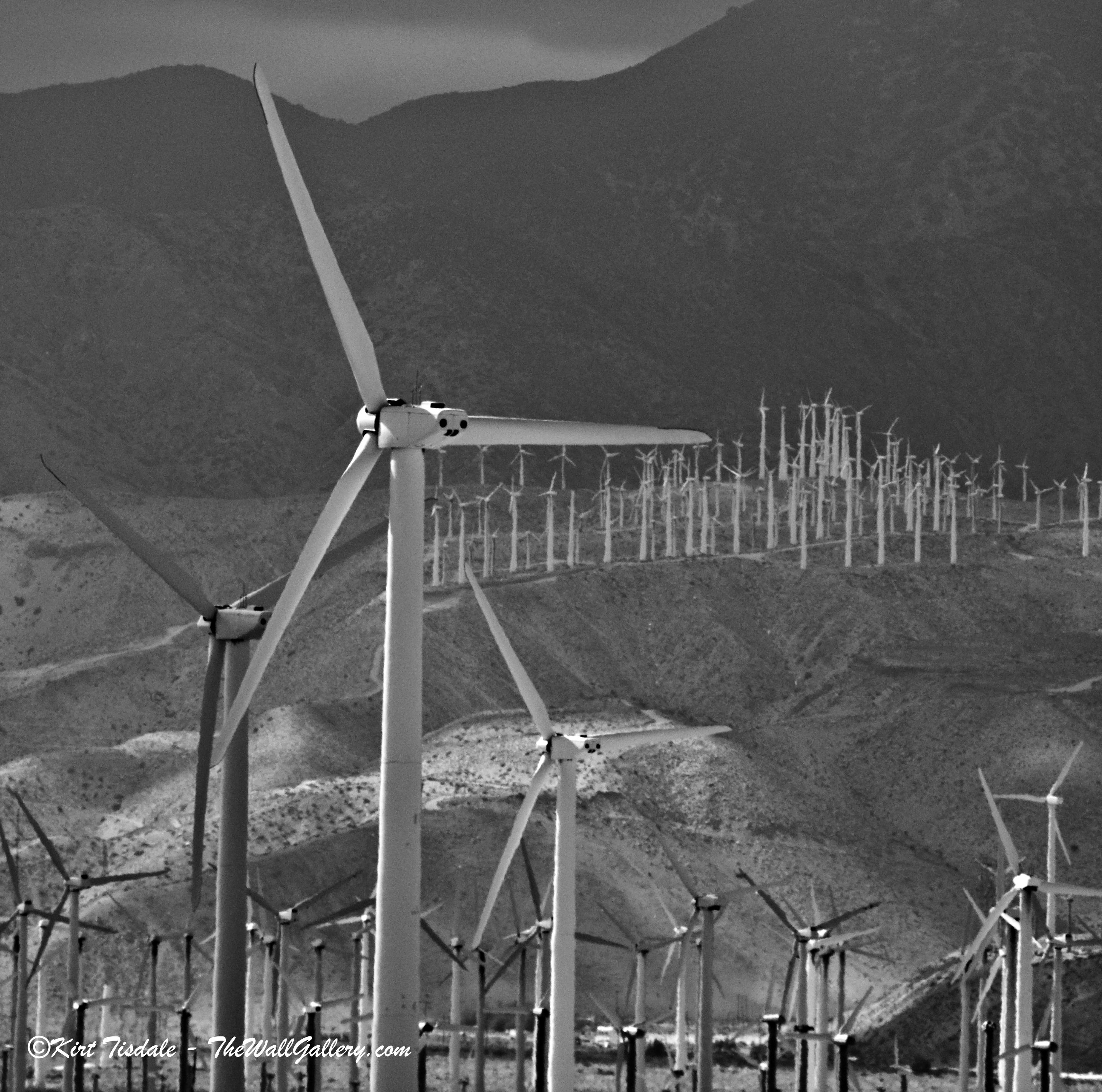 Wind Turbine 3: Black and White