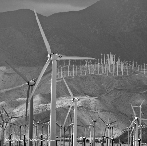 Wind Turbine 3: Black and White