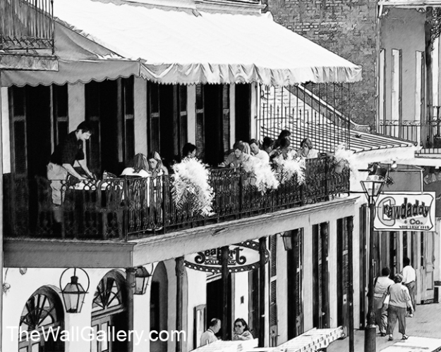 New Orleans Outdoor Cafe