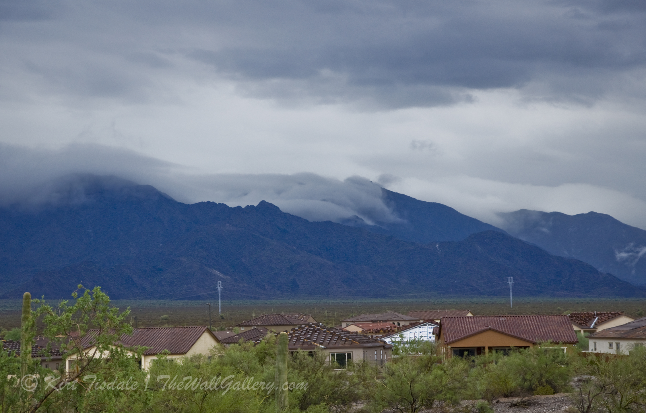 Clouds and Mountains 2