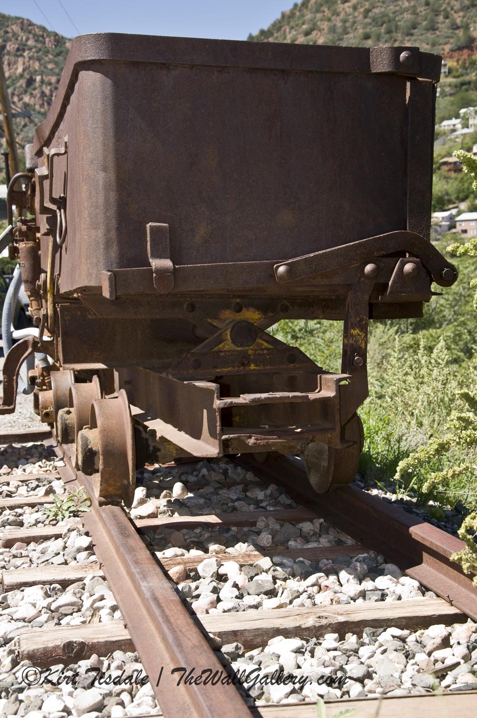 Original Mining Cart Shot