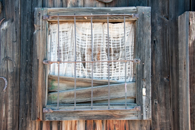 Old West Window 1