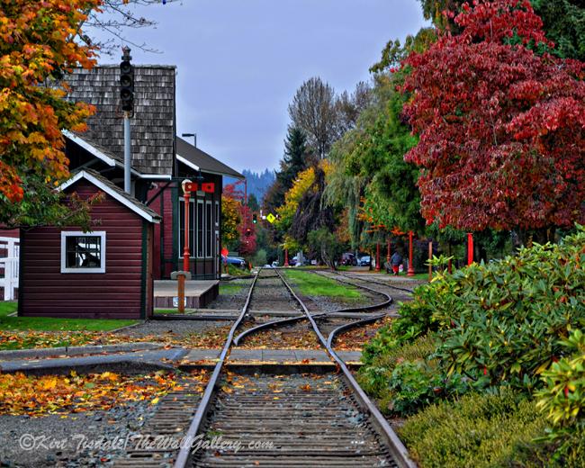 Issaquah Train Station