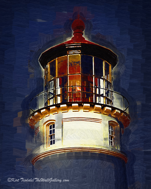Umpqua Lighthouse in Gothic