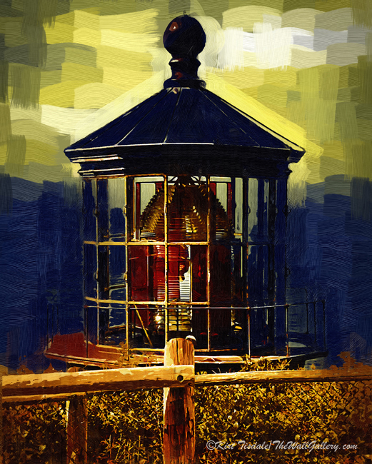Cape Meares Light in Gothic