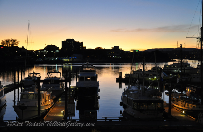 """""""Dusk and the Boats"""""""