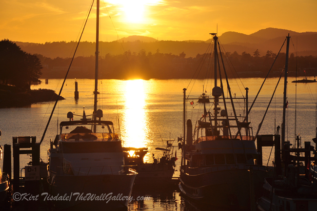 """""""Sunset and the Boats"""""""
