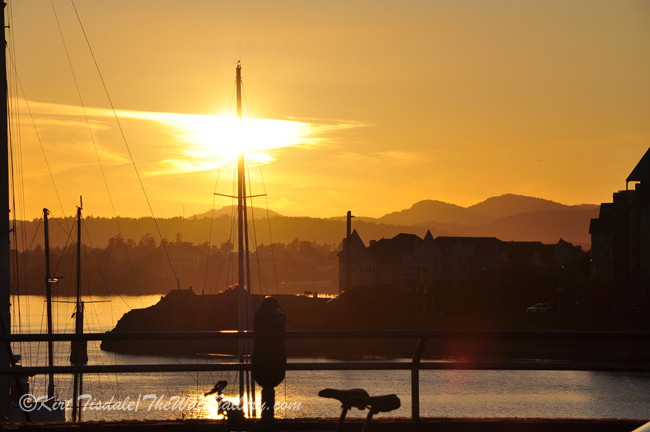 """""""Sunset and the Harbor"""""""