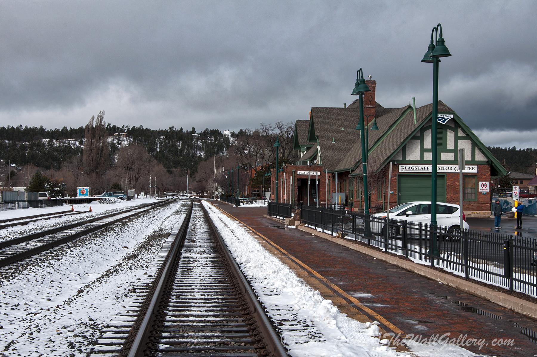 Flagstaff Railroad Tracks 1