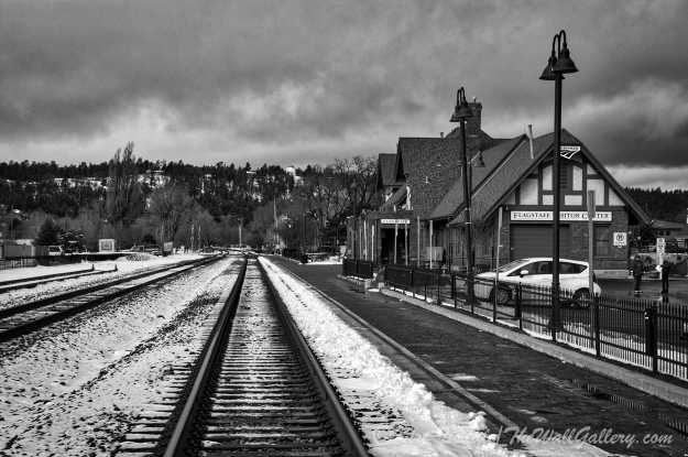 Flagstaff Railroad Tracks 2