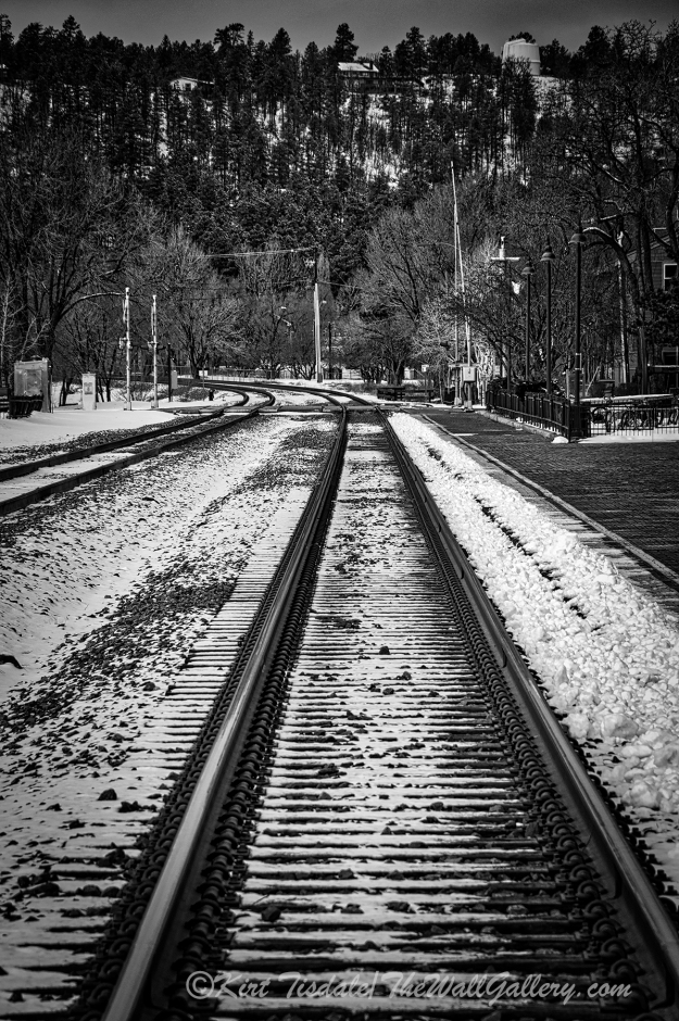 Flagstaff Railroad Tracks 3