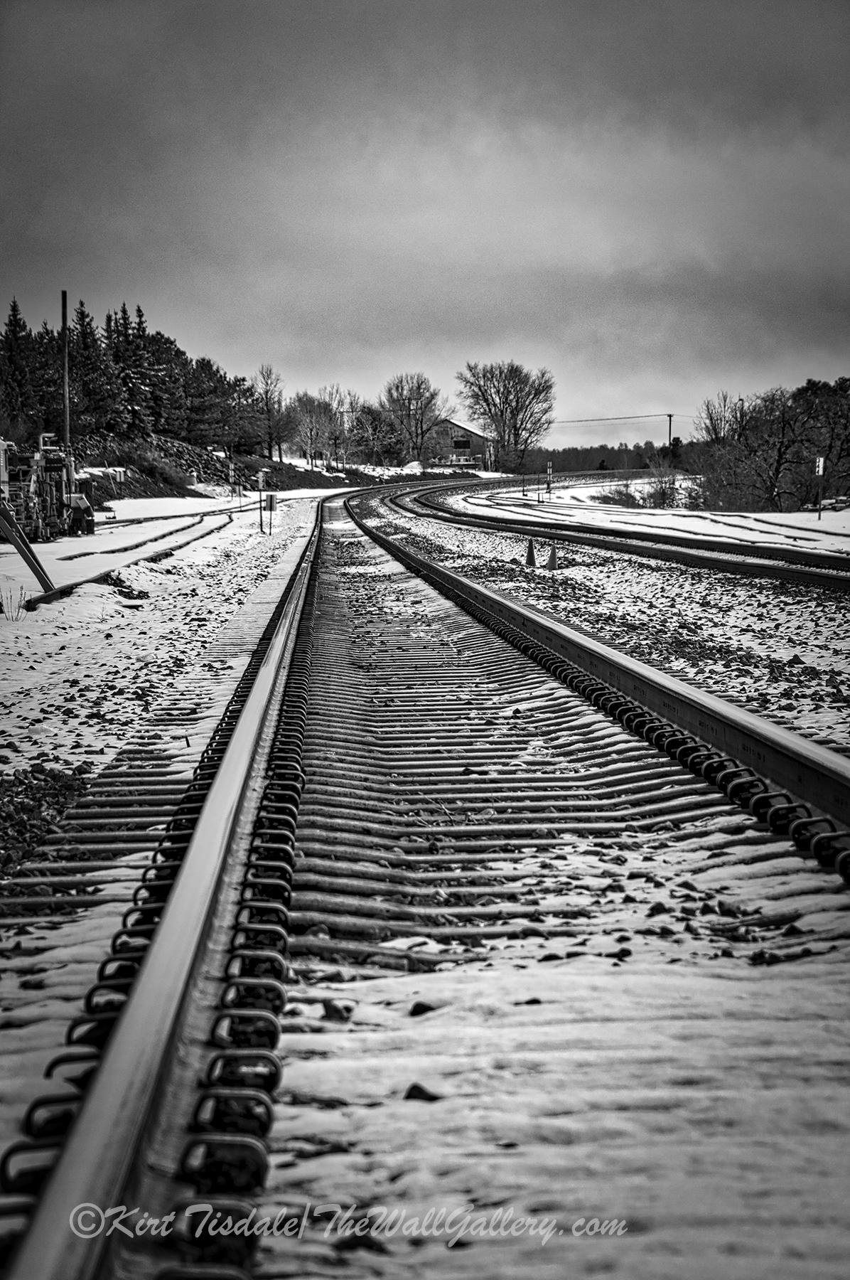 Flagstaff Railroad Tracks 5