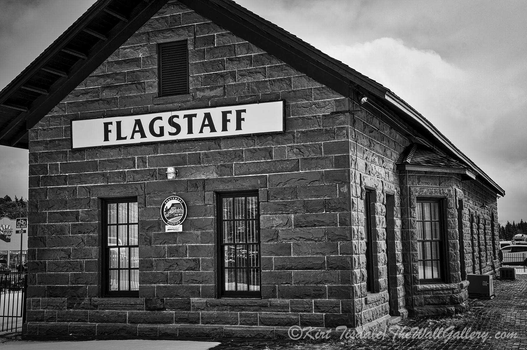 Flagstaff Railroad Tracks 6