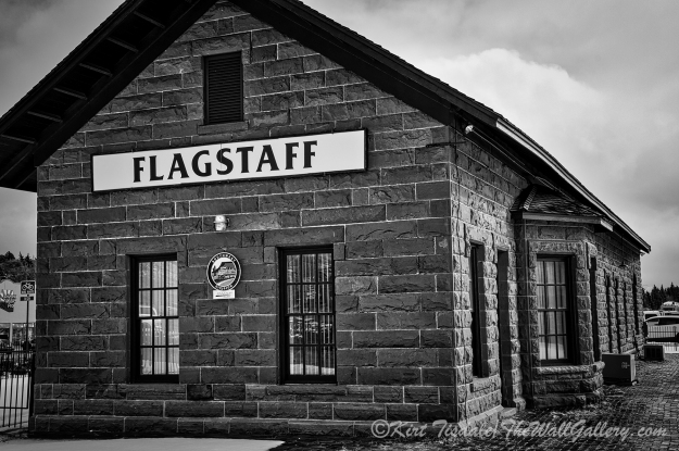 Flagstaff Railroad Tracks 6