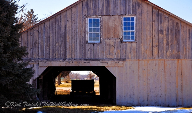 """Through the Hay Barn"""