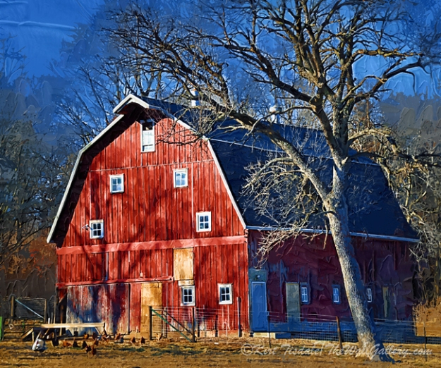 """The Farms Red Barn"""