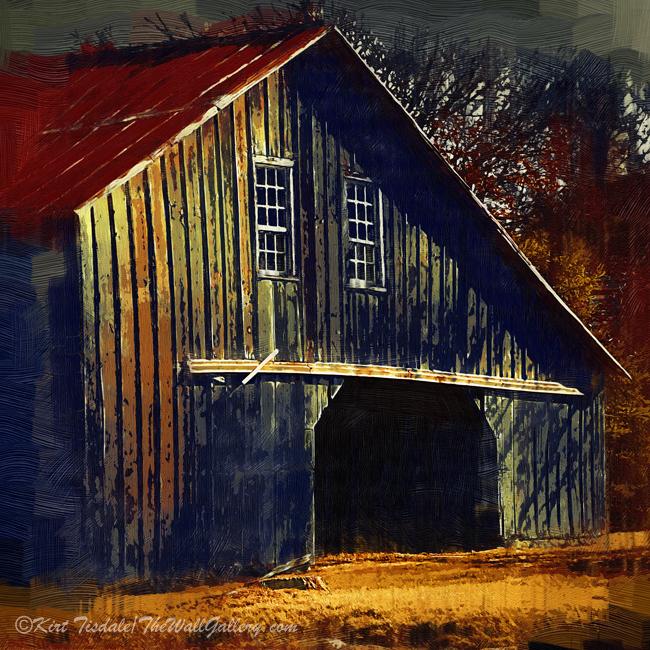 """The Old Iowa Hay Barn"""