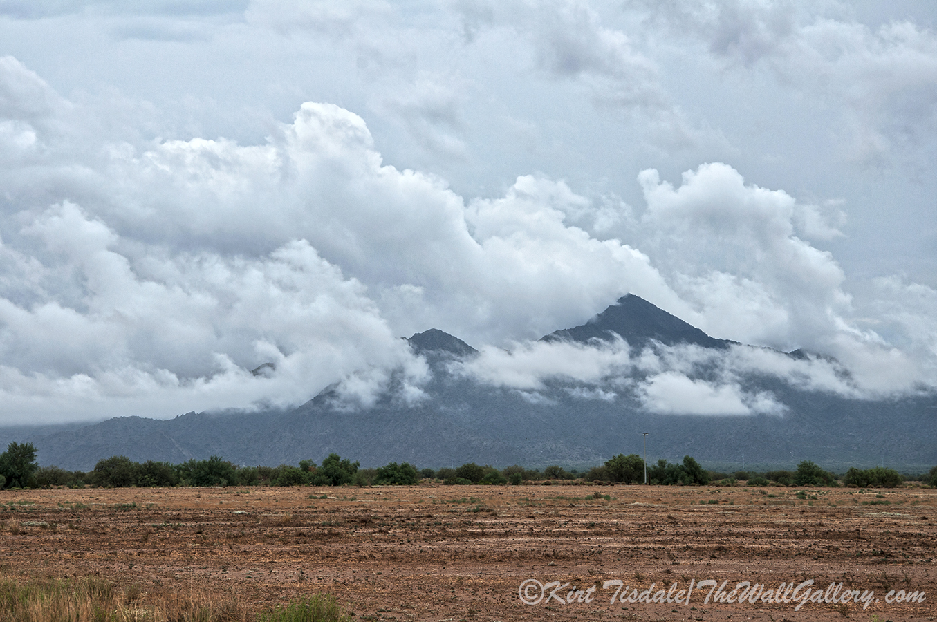 Storm Clouds Over The Estrella Mountains – Excerpts from a ...