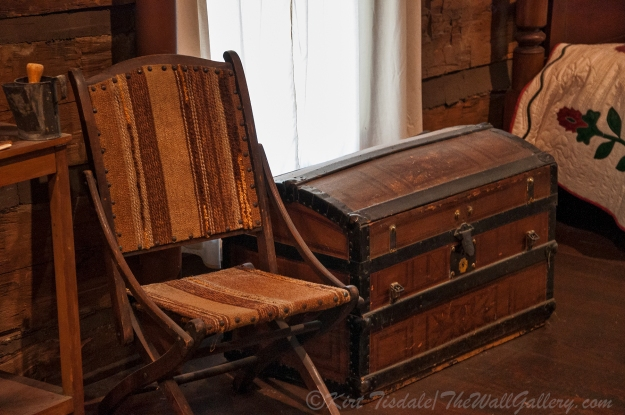 Sharlot Hall - Chair and Chest