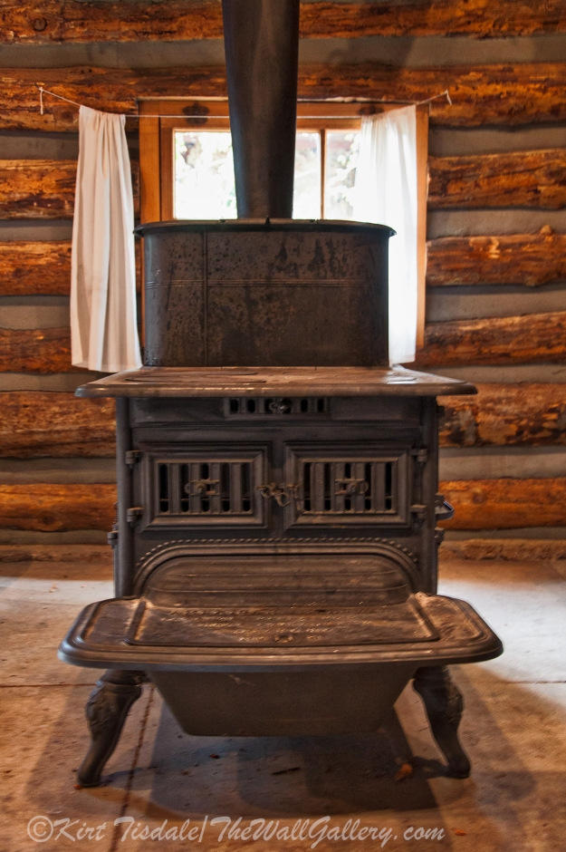 Sharlot Hall - Pot Belly Stove